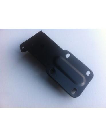 Support de pare-chocs arrière étroit peint en noir 2cv 4 et 6 depuis 1970