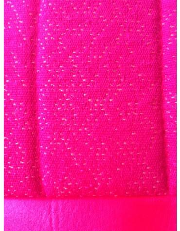 Garniture de banquette arrière Ami 6 Club diamanté rouge rabattable