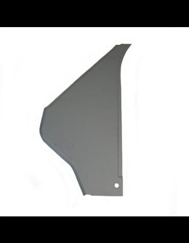Triangle avant gauche électrozingué, 2CV entre aile avant et portière