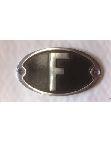 Véritable F GH horizontal noir en aluminium massif