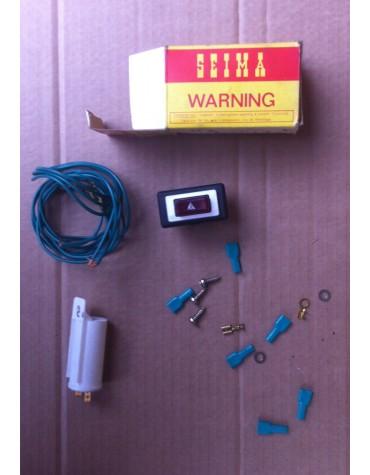 Ensemble de montage Warning 12 volts marque Seima