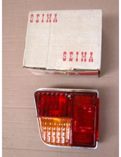 Cabochon de feu arrière gauche 2CV4 et 6 avant 1972