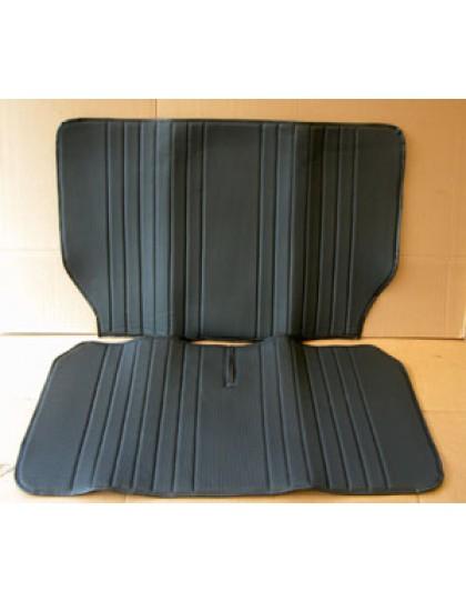 Garniture de banquette arrière 2cv targa noir