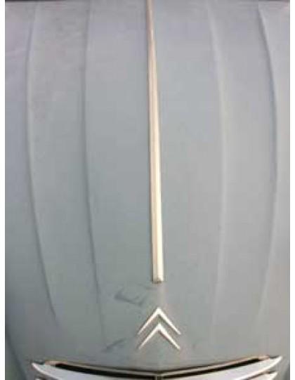 Baguette courte de capot  2 cv nouveau modèle