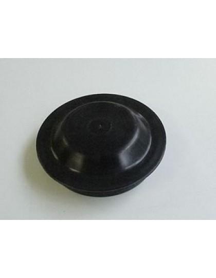 Bouchon de roulement des roue arrière, en plastique, 2 CV