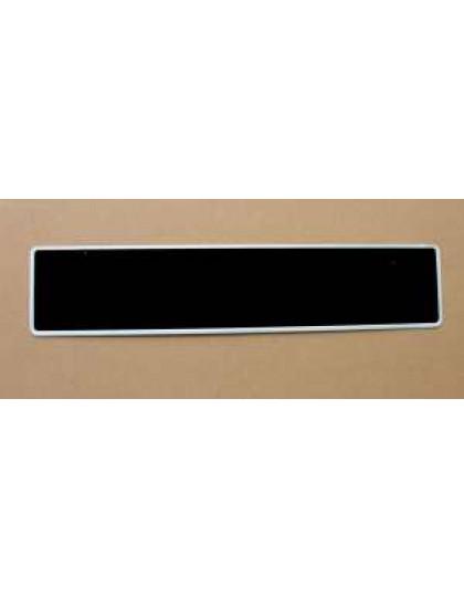 Plaque d'immatriculation arrière 520 x 110
