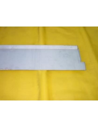 Tôle de réparation du plancher de pédale, intérieur, 2 CV