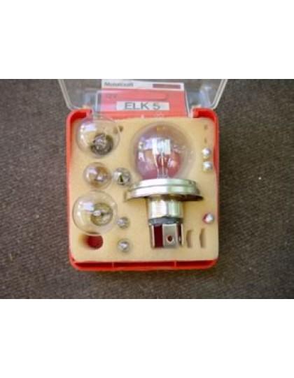 Coffret de lampes 12 volts code européen
