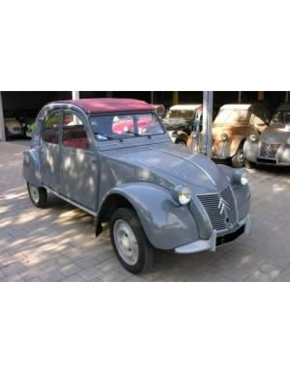 2cv AZLP 1958 gris souris