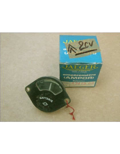 amperemetre 2cv ancienne