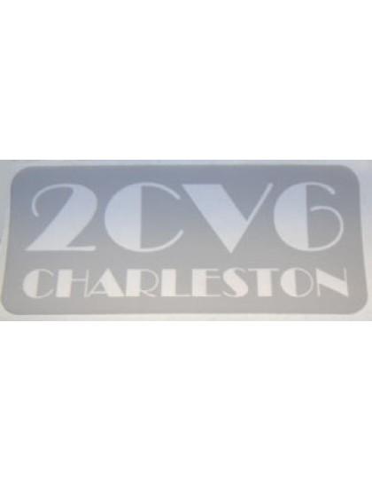 Autocollant Charleston livraison offerte en France continentale