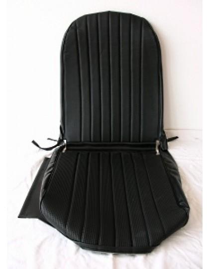 Garniture de siège droit, targa noir, 2CV/Dyane
