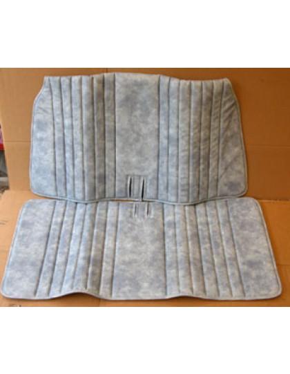Garniture de banquette avant skai bleu denim pour 2cv Cocorico