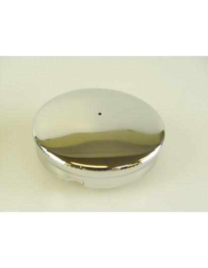 Bouchon de réservoir chromé   2cv avant 4/54 Diamètre 55 mm