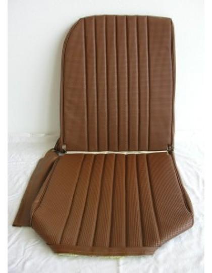 Garniture de siège droit targa marron, dossier asymétrique 2cv/Dyane