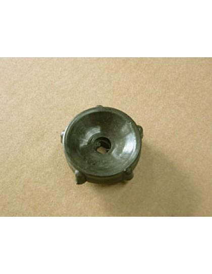 Molette noire de règlage des phares ou de volet d'aération 2cv
