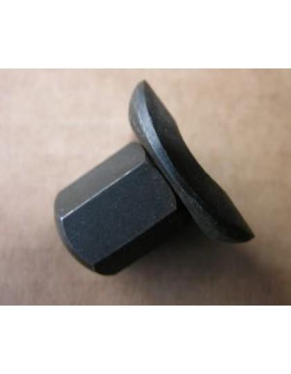 Ecrou de roue long 2cv à repeindre en noir