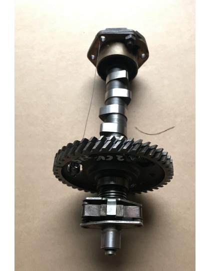Arbre à cames + pompe à huile 2cv type A moteur 375 cm3