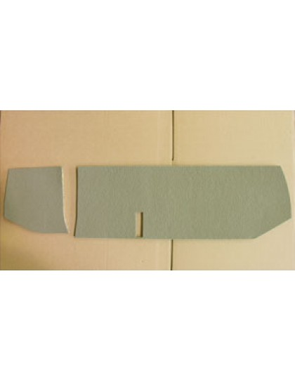 Garniture de tablette de boîte à gants  2cv AZAM et AZA avant 1970