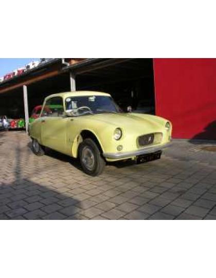 2cv Bijou1961 jaune jonquilles