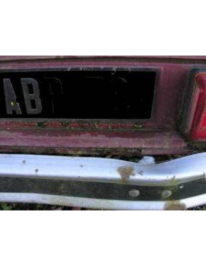 Corrosion jupe arrière