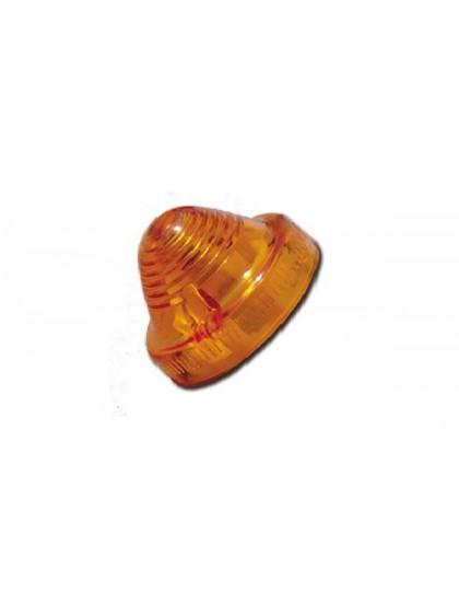 Cabochon de clignotant orange 2CV/AK/AZU/Méhari/HY