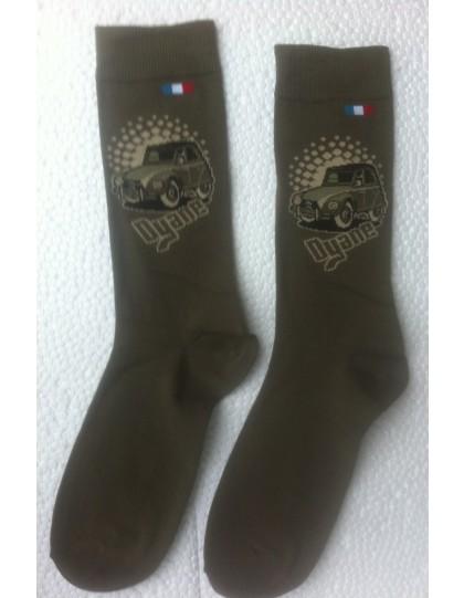 Paire de chaussette homme 39/46 Dyane Kaki