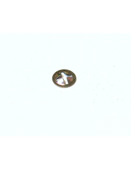 Clip de fixation de chevron de capot ou de porte de malle