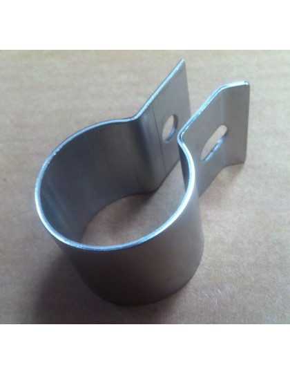 Collier tube de sortie, 2 CV/Dyane Ami en Inox