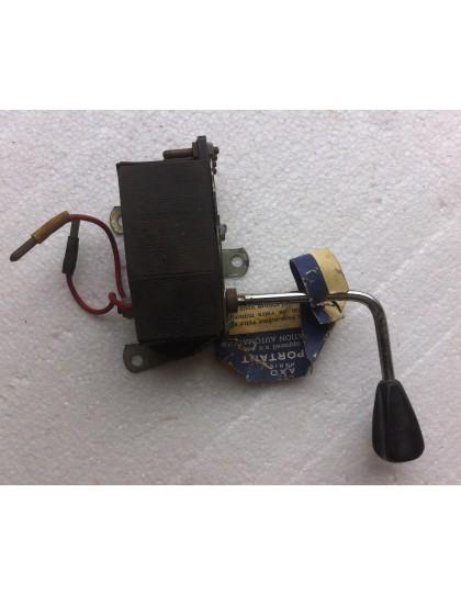Commodo de clignotant 12 volts Ami 6 bouton gris AXO 530