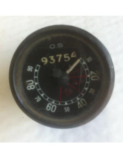Compteur de vitesse OS gradué de 10 à 90 km/h  occasion verre plat