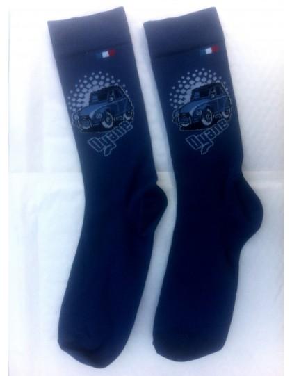 Paire de chaussettes hommes 39/46 Dyane bleue