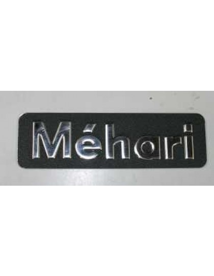 Monogramme Méhari