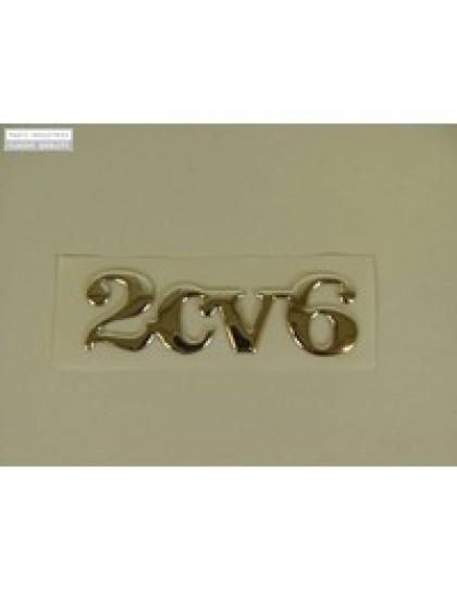 Emblème 2cv6 à coller