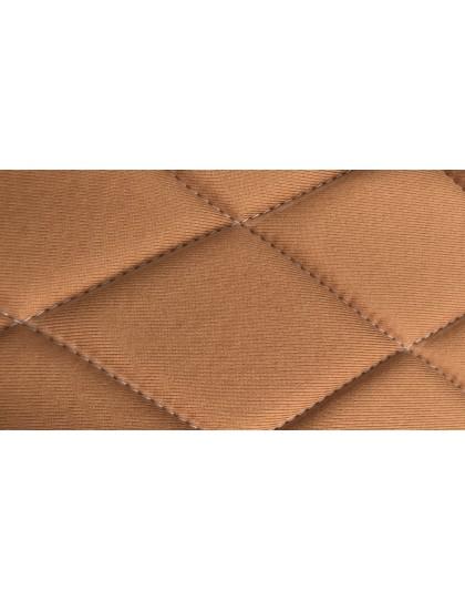 Ensemble de garnitures de sièges 2cv tissus losanges jaune dossiers symétriques