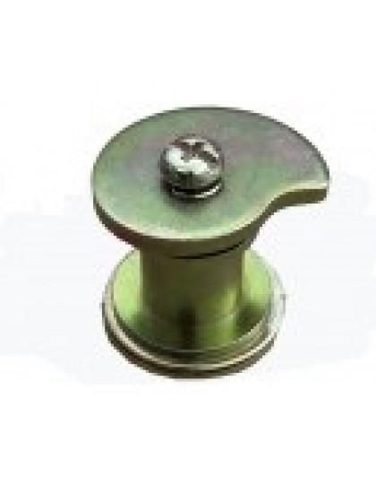 Excentrique de mâchoire avant sur la flasque : ensemble complet pour mâchoires largeur 220 mm