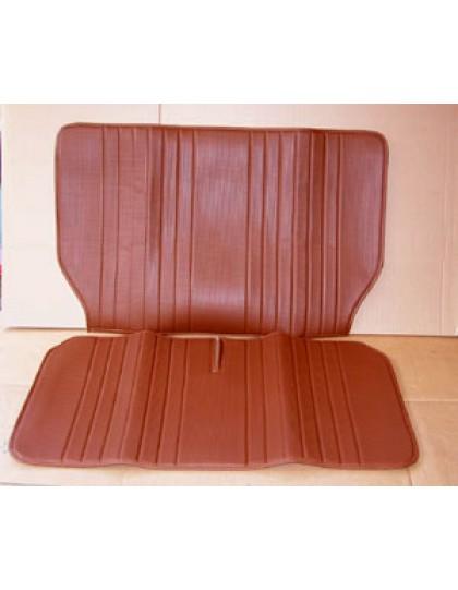 Garniture de banquette arrière targa marron, en 2 parties