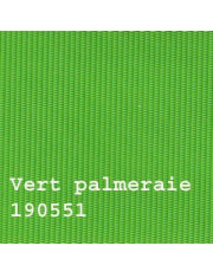 Capote 2CV neuve, fixation intérieure, vert palmeraie