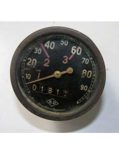 Compteur ED ancien modèle occasion gradué de 10 à 90 km/h