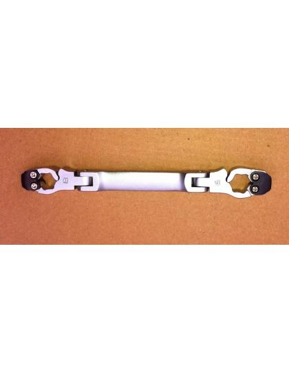 Clé à tuyauter conduite de freins 8 et 9 mm