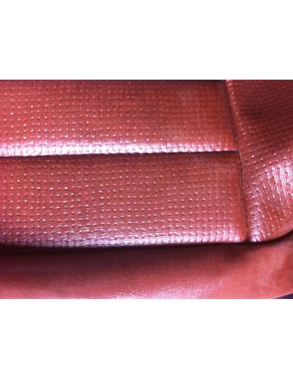 Garniture de banquette arrière fixe en targa marron pour Ami 8