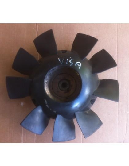 Hélice de ventilateur + poulie Visa