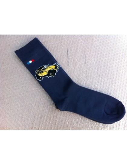 Paire de chaussettes 43/46 Charleston Jaune