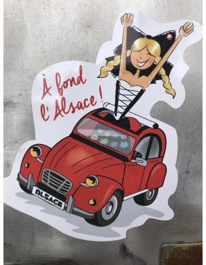 2CV à fond l'Alsace