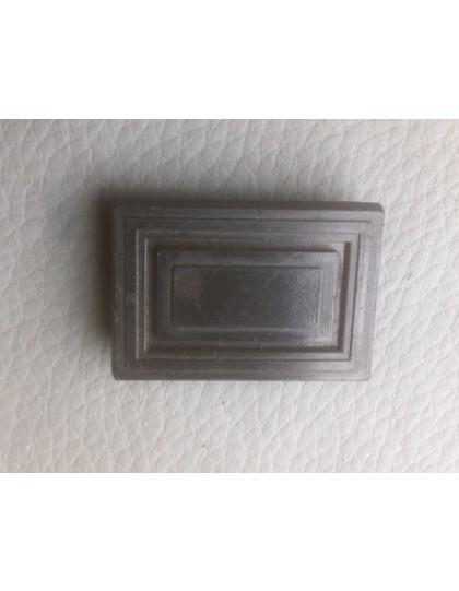 Obturateur rectangulaire d'interrupteur de tableau de bord 2CV
