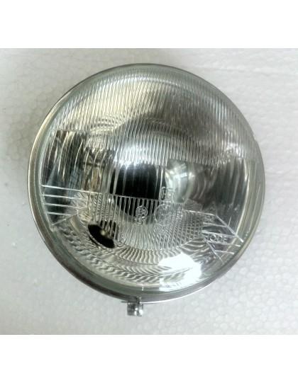 Optique de phare 2cv H4 premier prix avec trou de veilleuse pour un meilleur éclairage