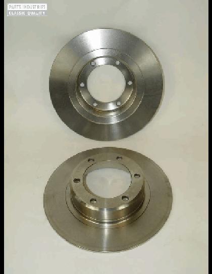 Paire de disques de frein, 2 CV / Dyane/Ami8 Méhari