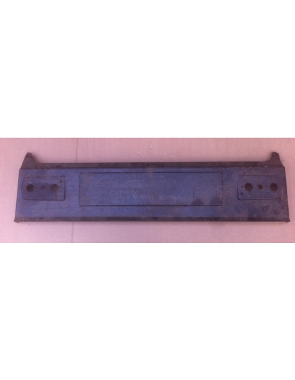 Panneau arrière Dyane avant 1977 avec support de tôle de séparation de coffre pour plancher plat