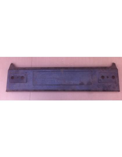Panneau arrière Dyane après 1977 fermeture de coffre par bouton poussoir