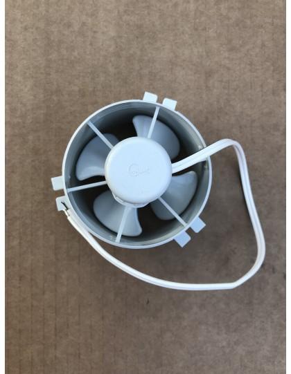 Petit moteur de chauffage, pulse l'air chaud dans la 2cv et facilite le dégivrage du pare-brise